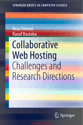 Collaborative Web Hosting Challenges And Research Directions