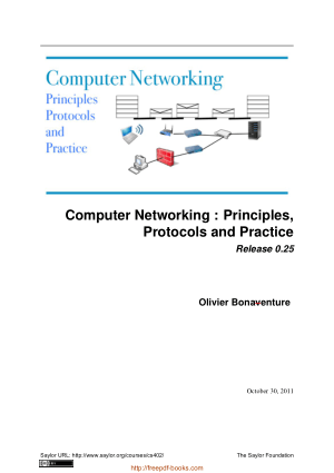 Computer Networking – Principles Protocols and Practice