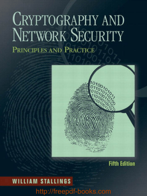 Free Download PDF Books, Cryptography And Network Security 5th Edition Book
