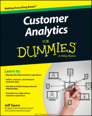Free Download PDF Books, Customer Analytics For Dummies Ebook