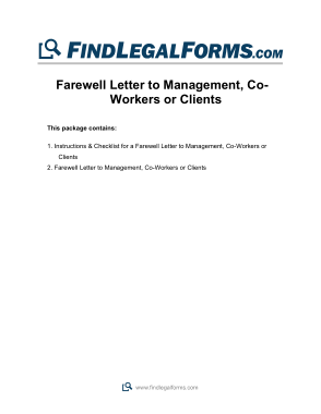 Free Download PDF Books, Farewell Letter Format Template