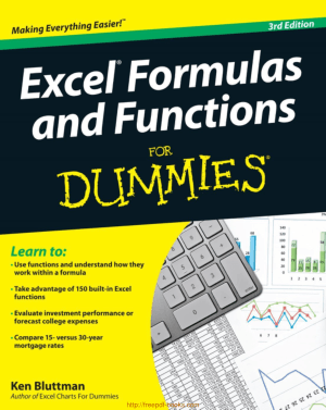 Excel Formulas and Functions For Dummies 3rd Edition ebooks