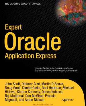 Free Download PDF Books, Expert Oracle Application Express