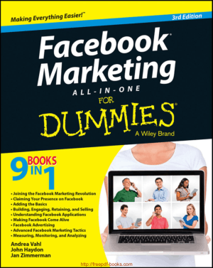 Free Download PDF Books, Facebook Marketing All In One For Dummies 3rd Edition Ebook