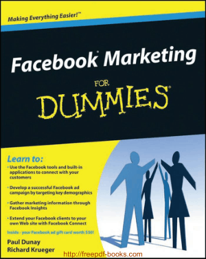 Free Download PDF Books, Facebook Marketing For Dummies Ebook
