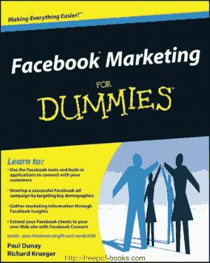 Facebook Marketing For Dummies Ebook