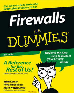 Firewalls For Dummies Book