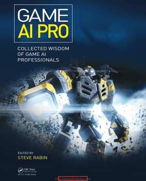 Free Download PDF Books, Game Ai Pro- Collected Wisdom Of Game Ai Professionals