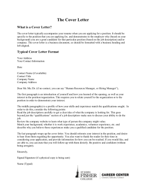 Free Download PDF Books, Student Application Letter Format Template