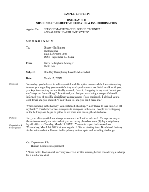 Free Download PDF Books, Insubordination Termination Letter Template