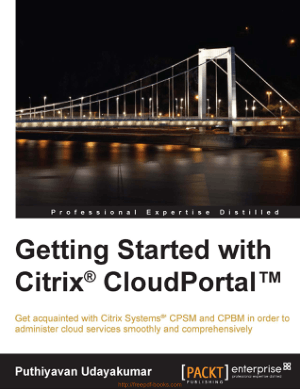 Getting Started With Citrix Cloudportal Book