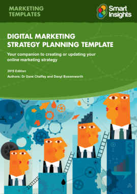 Free Download PDF Books, Digital Marketing Plan Template