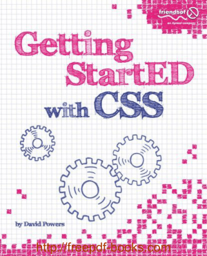 Free Download PDF Books, Getting Started with CSS