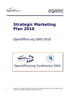 Free Download PDF Books, Printable Strategic Marketing Plan 2010 Template