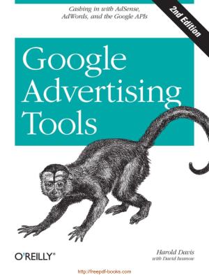 Google Advertising Tools 2nd Edition Ebook