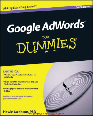 Google Adwords For Dummies 2nd Edition Ebook