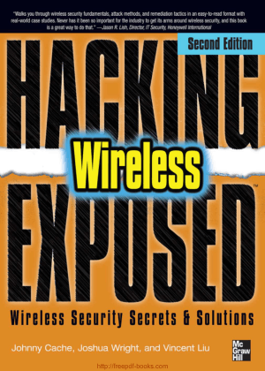 Hacking Exposed Wireless Security Secrets And Solutions, 2nd Edition