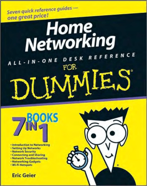 Free Download PDF Books, Home Networking All in One Desk Reference For Dummies