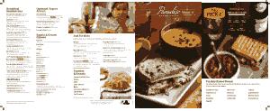 Free PDF Books, Beautiful Bakery Menu Template