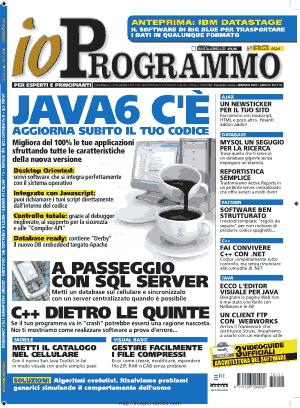 Free Download PDF Books, Io Programmo Magzine 111