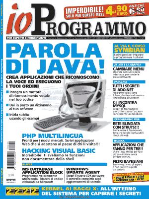 Free Download PDF Books, Io Programmo Magzine 90