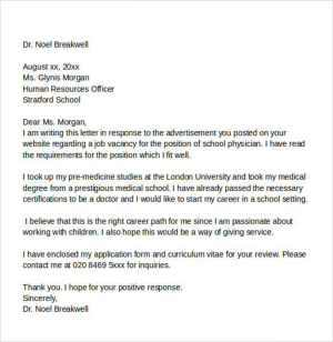 36+ Job Vacancy Sample Letter Of Intent For Job Images