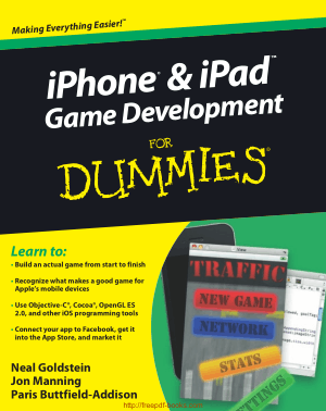 Iphone – Ipad Game Development For Dummies