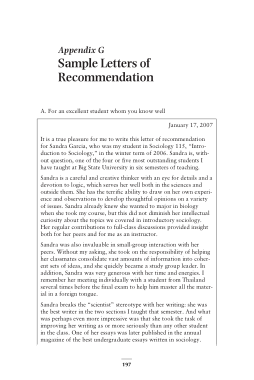 Free PDF Books, Post Graduate Admissions Recommendation Letter Template
