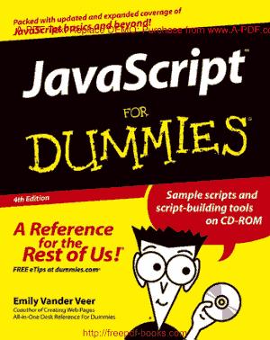 Free Download PDF Books, JavaScript For Dummies 4th Edition