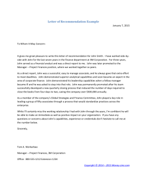 Free PDF Books, Letter of Recommendation Sample Template