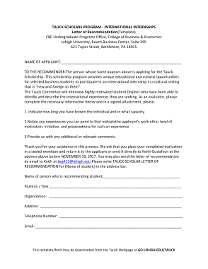 Free PDF Books, Letter of Recommendation Template