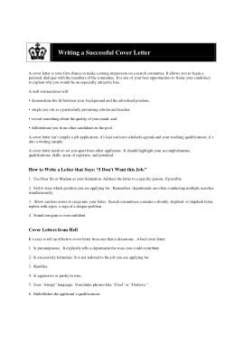 Free Download PDF Books, Recommendation Request Cover Letter Template