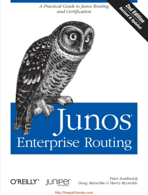 Free Download PDF Books, Junos Enterprise Routing 2nd Edition Book