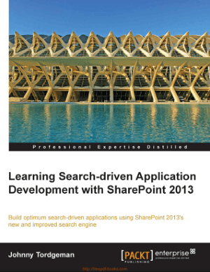 Free Download PDF Books, Learning Search-Driven Application Development With Sharepoint 2013 Book