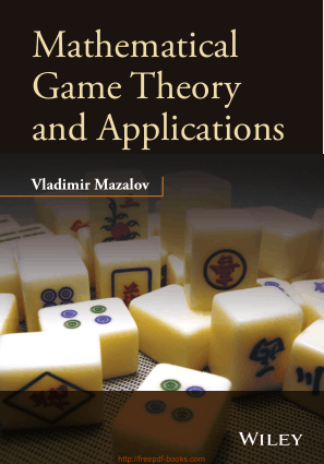Free Download PDF Books, Mathematical Game Theory And Applications