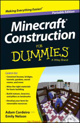 Free Download PDF Books, Minecraft Construction For Dummies Portable Edition Ebook