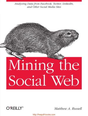 Free Download PDF Books, Mining The Social Web