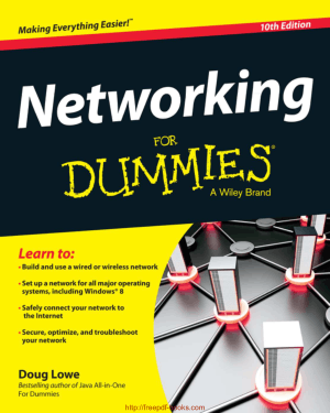 Free Download PDF Books, Networking For Dummies 10th Edition