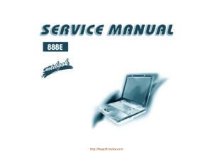 Free Download PDF Books, Noname Clevo 888e Sager Np888x Service Manual