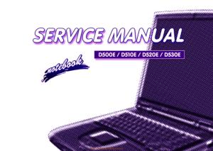 Noname Clevo D500e D510e D520e D530e Sager Np5690 Service Manual