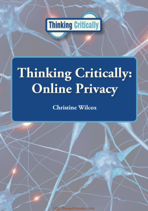 Free Download PDF Books, Online Privacy Thinking Critically Reference Point