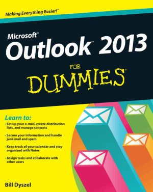 Free Download PDF Books, Outlook 2013 For Dummies