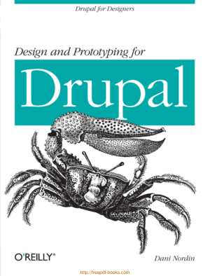 Free Download PDF Books, Design And Prototyping For Drupal