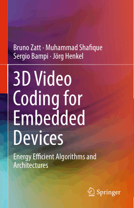 Free Download PDF Books, 3D Video Coding for Embedded Devices