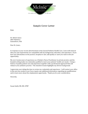 Nurse Resume Cover Letter Template Free Download Free Pdf Books