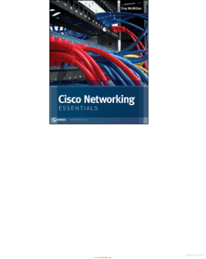 Free Download PDF Books, Cisco Networking Essentials, Pdf Free Download