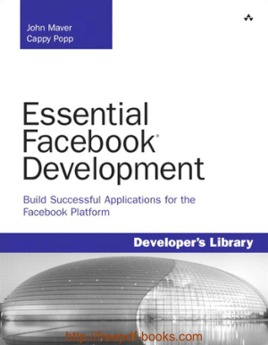 Free Download PDF Books, Essential Facebook Development