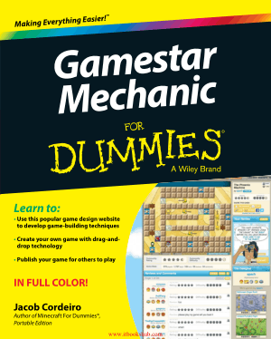 Gamestar Mechanic For Dummies, Free Books Online Pdf