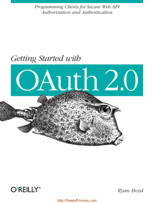 Free Download PDF Books, Getting Started With Oauth 2.0