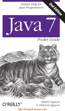 Java 7 Instant Help For Java Programmers 2nd Edition Book, Java Programming Tutorial Book